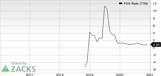 Spectrum Brands Holdings Inc. PEG Ratio (TTM)