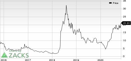 Turtle Beach Corporation Price