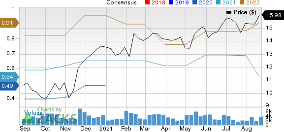VERRA MOBILITY CORP Price and Consensus