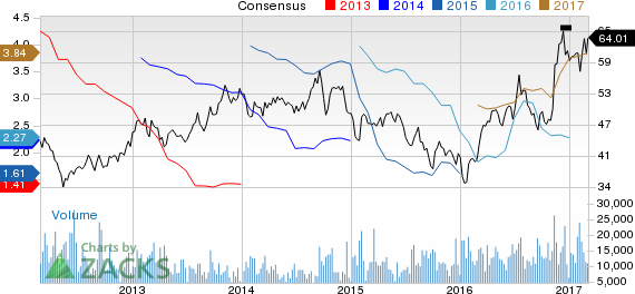 Why Is Nucor Corp (NUE) Up 12.4% Since the Last Earnings Report?
