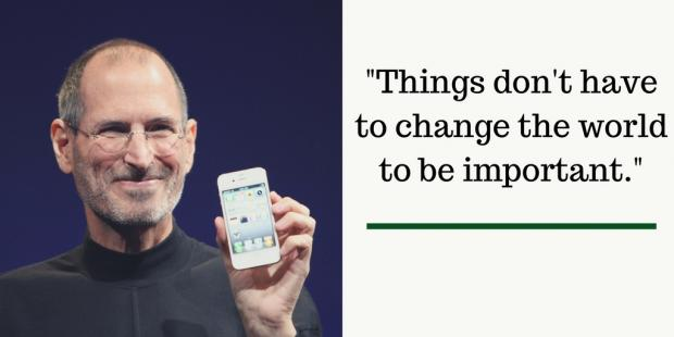 Remembering Steve Jobs 3 Quotes For Investors