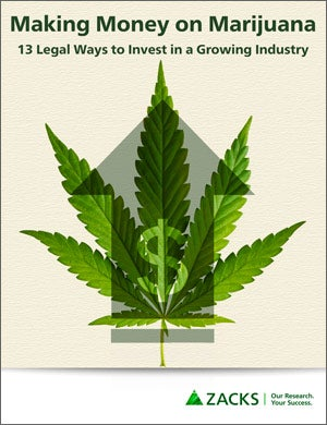 Zacks' Making Money on Marijuana - Report - Cover Photo