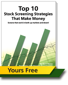 Report - Zacks' Top 10 Stock Screening Strategies Report