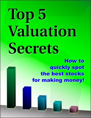 Report - Zacks' Top 5 Valuation Secrets Report